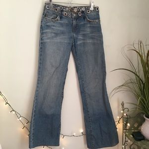 Streets Ahead Embellished Flare Leg Jeans